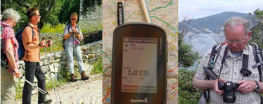 Wandern Fotos GPS